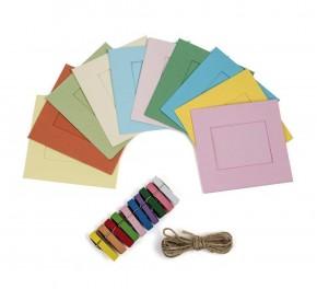 Polaroid - marcos de colores