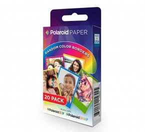 Papel Polaroid Zink Rainbow...