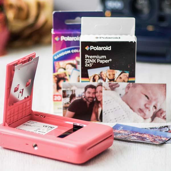 Papel Zink para Polaroid Snap