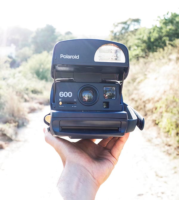 Polaroid 600 cámara instantánea