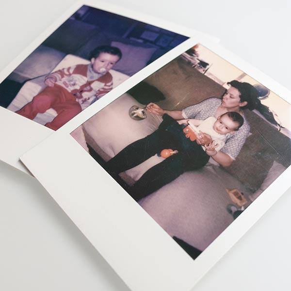 Película Polaroid 600