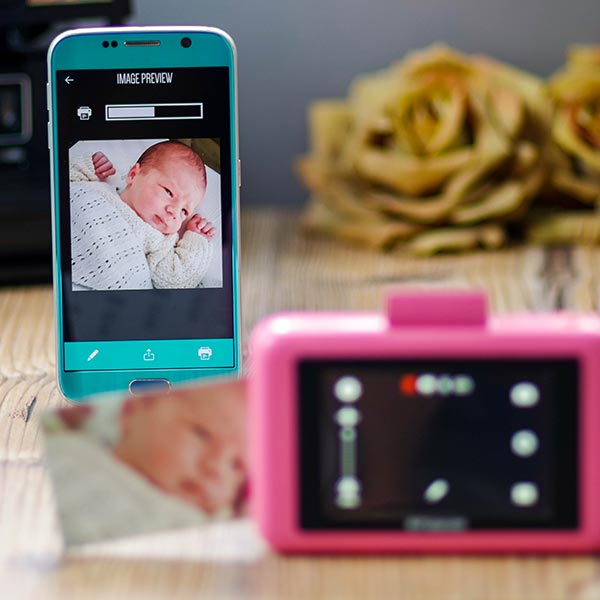 Polaroid Snap Touch app móvil