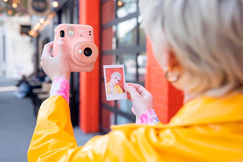 Fuji Instax Mini 11 selfi