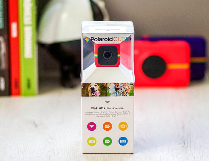 Polaroid Cube Plus caja