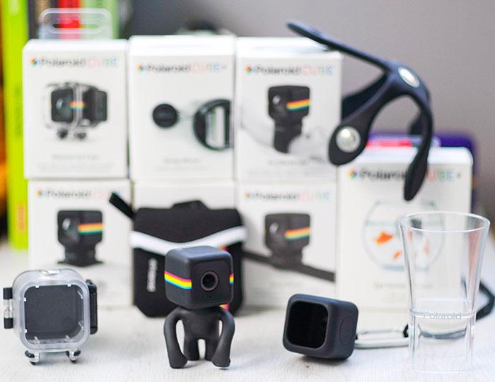 Polaroid Cube Plus accesorios