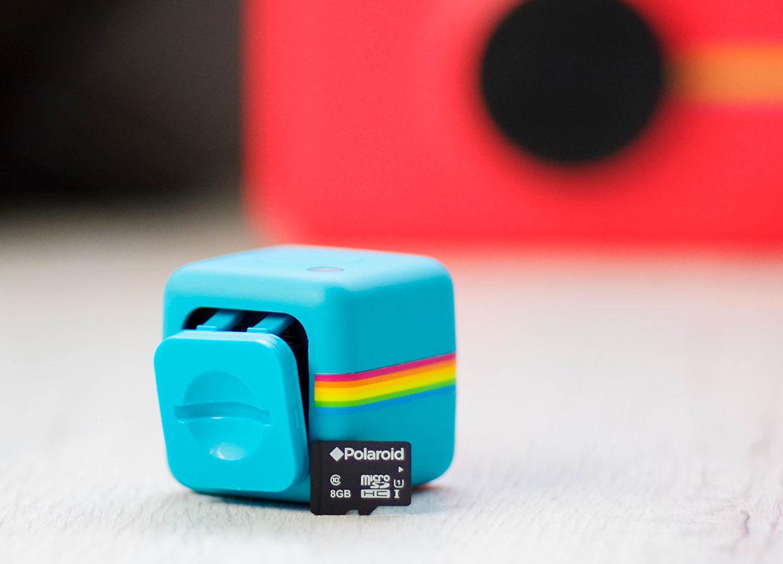 Polaroid Cube Plus tarjeta