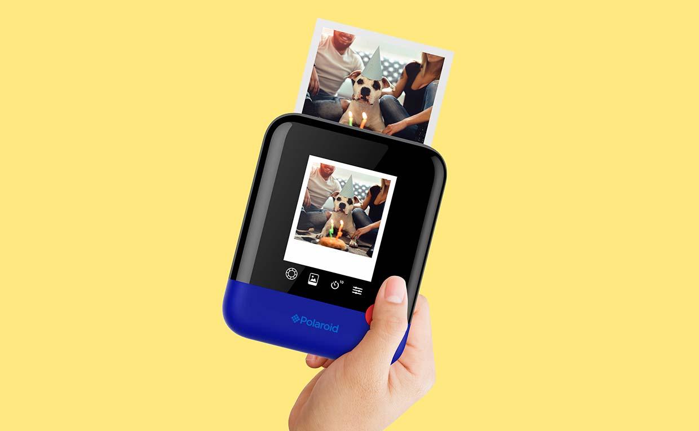 Polaroid Pop azul