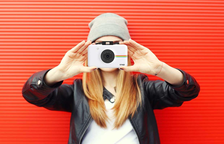 Polaroid Snap blanco