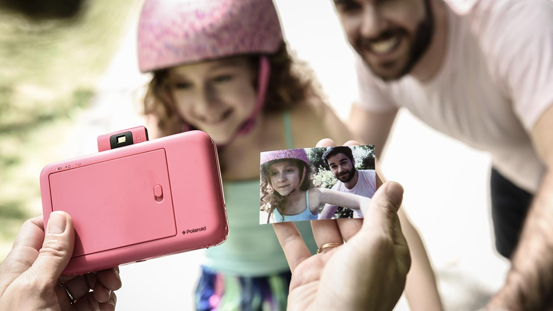Polaroid Snap rosa